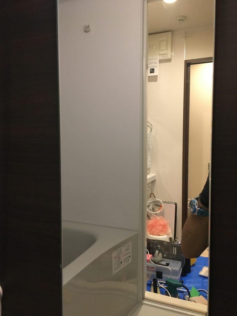高津区のお客様の浴室クリーニング